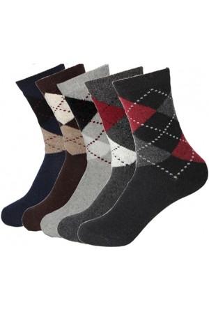Fabbrika Ekose Erkek Çorabı 6 Adet