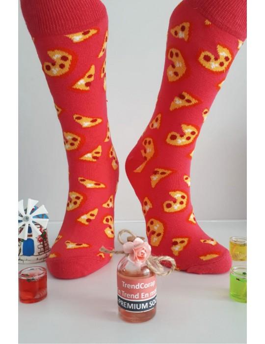 Sara Donna Kolej Soket Çorap Desen-10