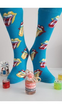 Sara Donna Kolej Soket Çorap Desen-3