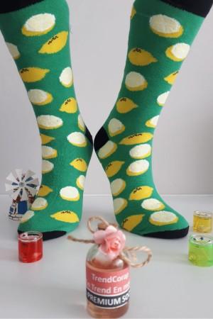 Sara Donna Kolej Soket Çorap Desen-5