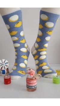Sara Donna Kolej Soket Çorap Desen-6