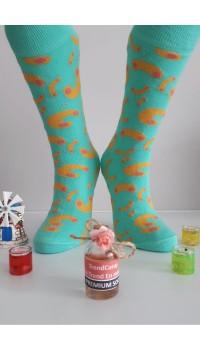 Sara Donna Kolej Soket Çorap Desen-7