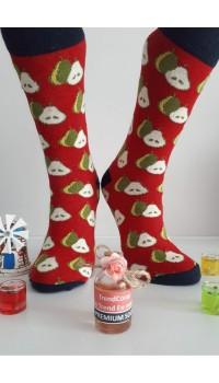 Sara Donna Kolej Soket Çorap Desen-8