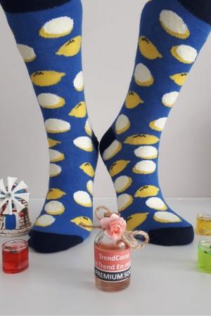 Sara Donna Kolej Soket Çorap Desen-9