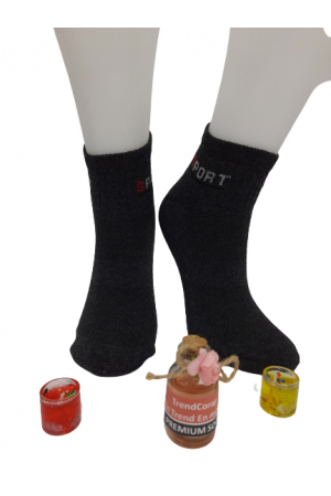 Fabbrica Erkek Patik Çorap 6 Adet