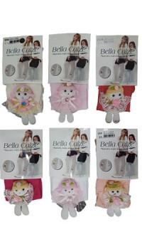Bella Calze Çocuk Külotlu Çorap 6 Adet