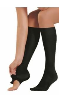Or~Al Pratik Burnu Açılan Dizaltı Çorap